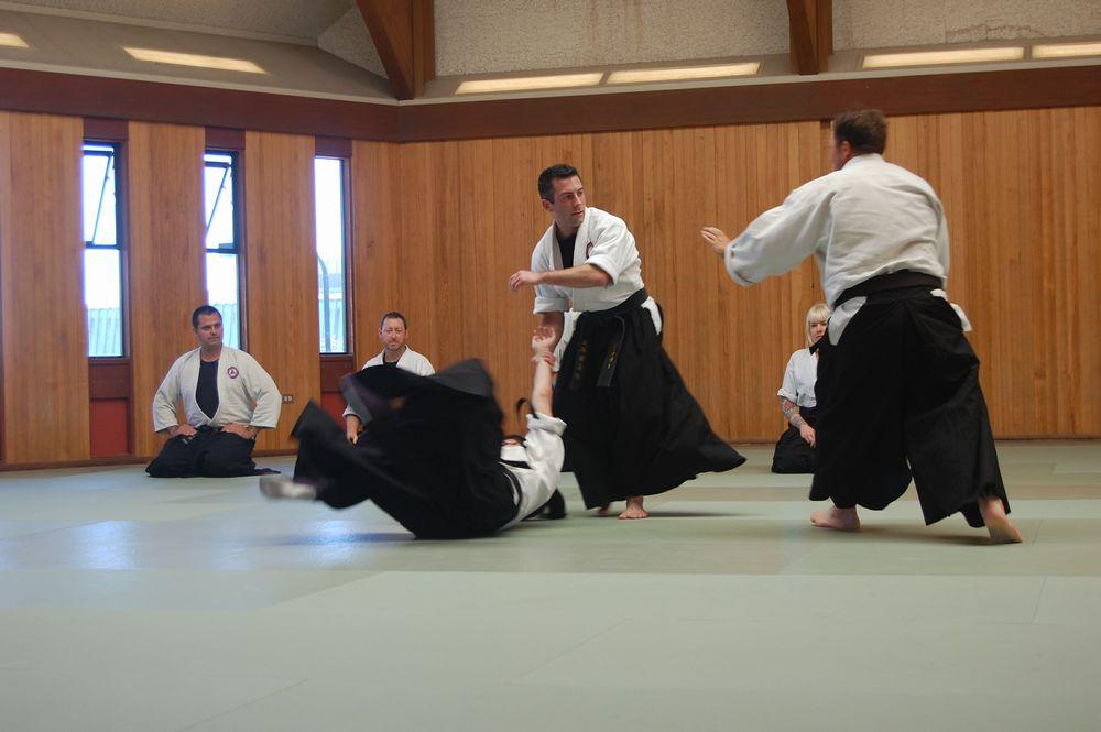 Society Of Japanese Blade Arts - self defense set #2a ...